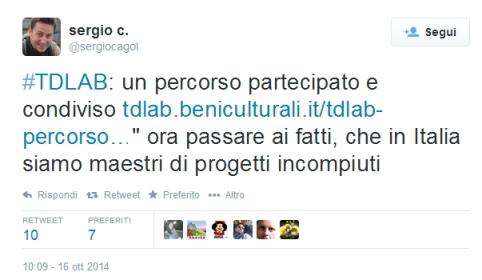 Cagol_TDLAB_tweet
