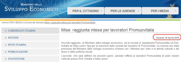 Promuovitalia_Comunicato_MISE